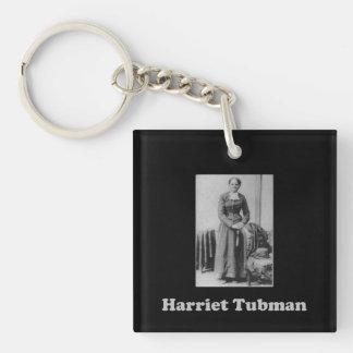 Zwart-witte Harriet Tubman Picture Sleutelhanger
