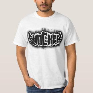 Zwart-witte Shocker T Shirt
