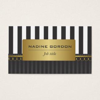 Goud en wit visitekaartjes for Goud zwart versiering
