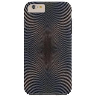 Zwart & Zilveren Optisch illusieiPhone6 Hoesje
