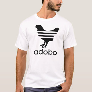 Zwarte adobo t shirt