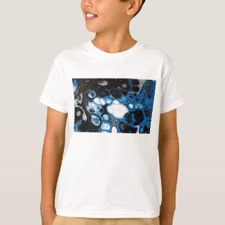 Zwarte & Blauwe Bellen T Shirt