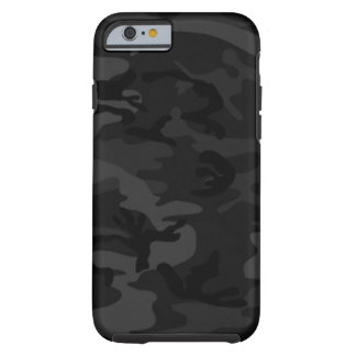 Zwarte Camo iPhone 6 hoesje
