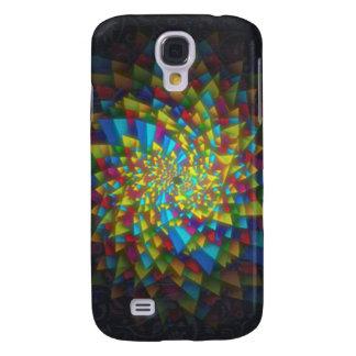 Zwarte Desgin Galaxy S4 Hoesje