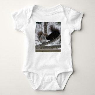 Zwarte Eekhoorn Romper