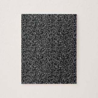 Zwarte elegante textuur foto puzzels