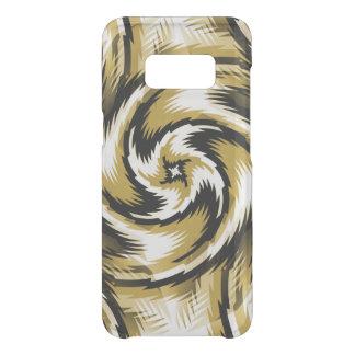 Zwarte en Gouden Wervelingen Get Uncommon Samsung Galaxy S8 Hoesje