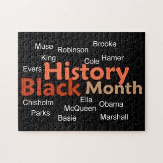 Zwarte Geschiedenis Puzzel