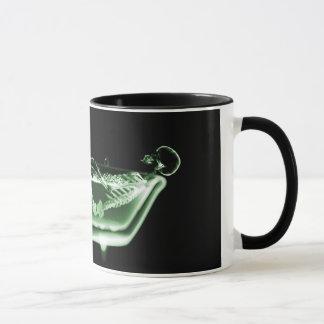 Zwarte Groen van het Bad van het Skelet van de Mok
