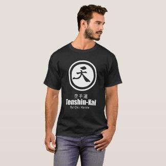 Zwarte het logoT-shirt van de Karate tenshin-Kai T Shirt