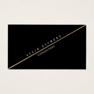 zwarte kaart ten voordele van de bedrijven met visitekaartjes