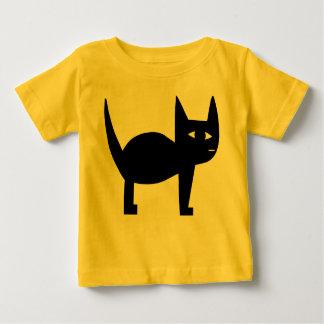 Zwarte Kat Baby T Shirts