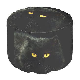 Zwarte Kat Poef