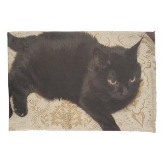 Zwarte Kat Roxie Kussensloop