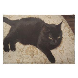 Zwarte Kat Roxie Placemat