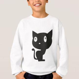 Zwarte kat trui