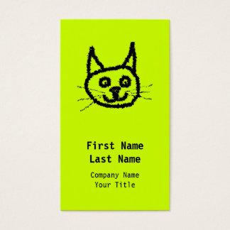 Zwarte Kat Visitekaartjes