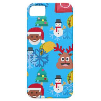 zwarte Kerstmis van de santataco Barely There iPhone 5 Hoesje