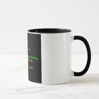 Zwarte Koffie Mok