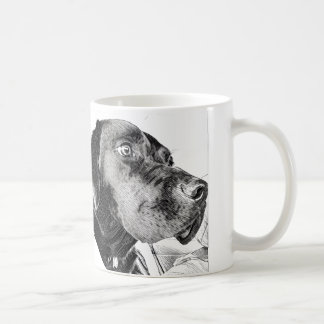 Zwarte Labrador Koffiemok