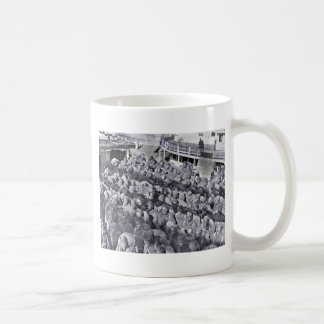 Zwarte Militairen WWI op het Schip van het Vervoer Koffiemok