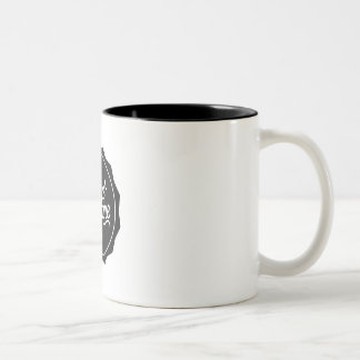zwarte mug sc tweekleurige koffiemok