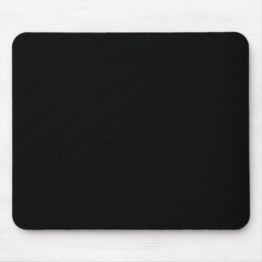 Zwarte Muismat - Voeg je eigen foto of tekst toe