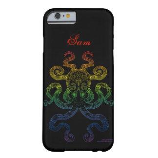 Zwarte Naam van de Trots van de Regenboog van de Barely There iPhone 6 Hoesje
