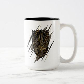 Zwarte Panter | Erik Killmonger Claw Marks Tweekleurige Koffiemok