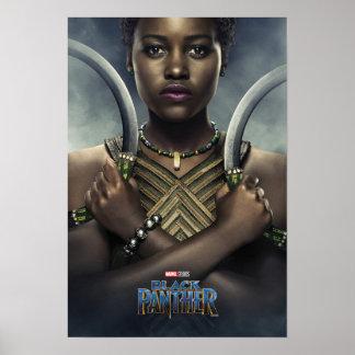 Zwarte Panter   Karakter Nakia Poster