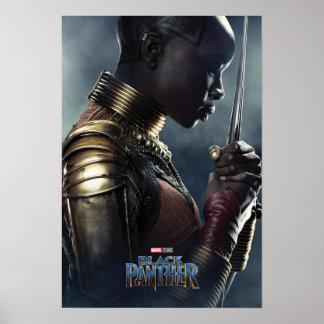 Zwarte Panter   Karakter Okoye Poster