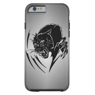 Zwarte Panter Tough iPhone 6 Hoesje