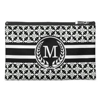 Zwarte Polycross met monogram HS Travel Accessoire Tasje
