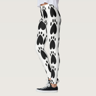 Zwarte Poten Leggings