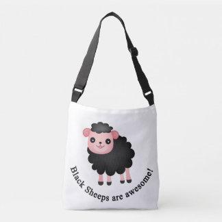 Zwarte sheeps zijn geweldige crossbody tas