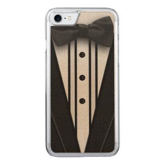 Zwarte Smoking met Vlinderdas Carved iPhone 8/7 Hoesje