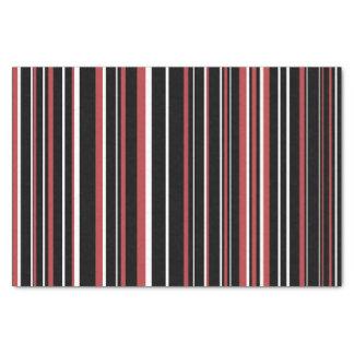 Zwarte, Streep van de Streepjescode van de 25,4 X 38,1 Cm Tissue Papier