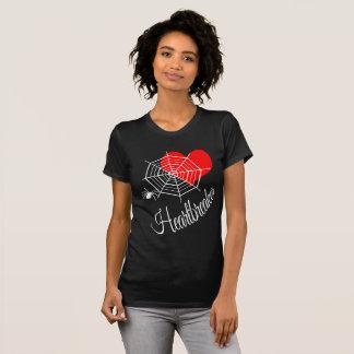 Zwarte van de Uitgave van Heartbreaker de Tweede T Shirt