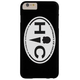 Zwarte van het Hoesje van iPhone van het Logo van