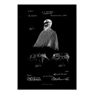 Zwarte van het Poster van het Octrooi van de Kaap
