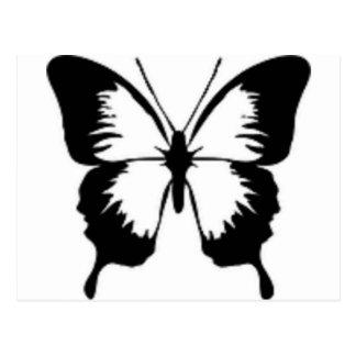 Zwarte Vlinder Briefkaart