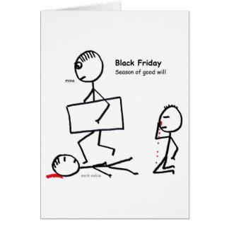 Zwarte Vrijdag Briefkaarten 0