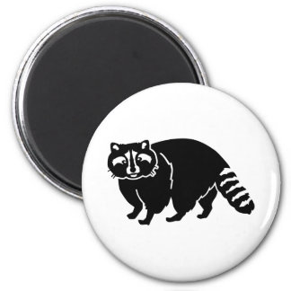 Zwarte wasbeer magneten