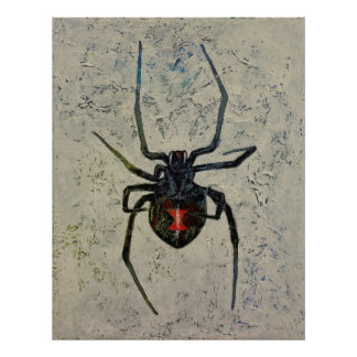 Zwarte weduwe poster