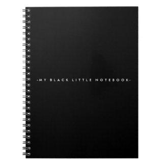 Zwarte Weinig Notitieboekje Ringband Notitieboek