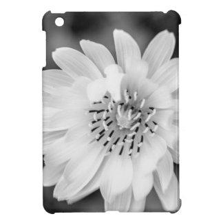 Zwarte & Witte Bloem iPad Mini Cases