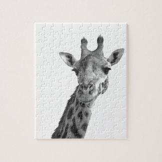 Zwarte & Witte Giraf Puzzel