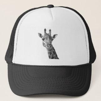 Zwarte & Witte Giraf Trucker Pet