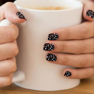 Zwarte & Witte Minx Spijkers Minx Nail Folie