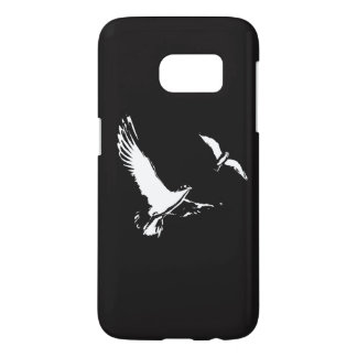 Zwarte & Witte Vliegende Vogels - het hoesje van